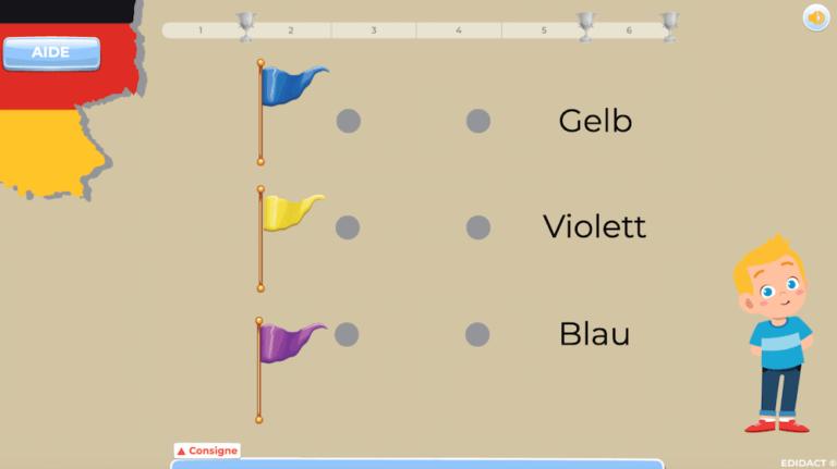 jeux allemand 5-6 Harmos